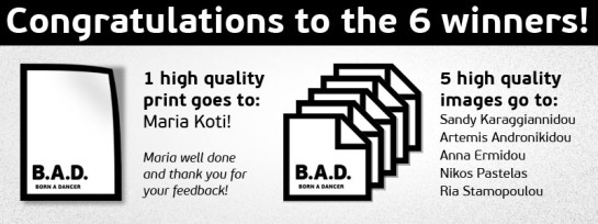 B.A.D. comment and win contest